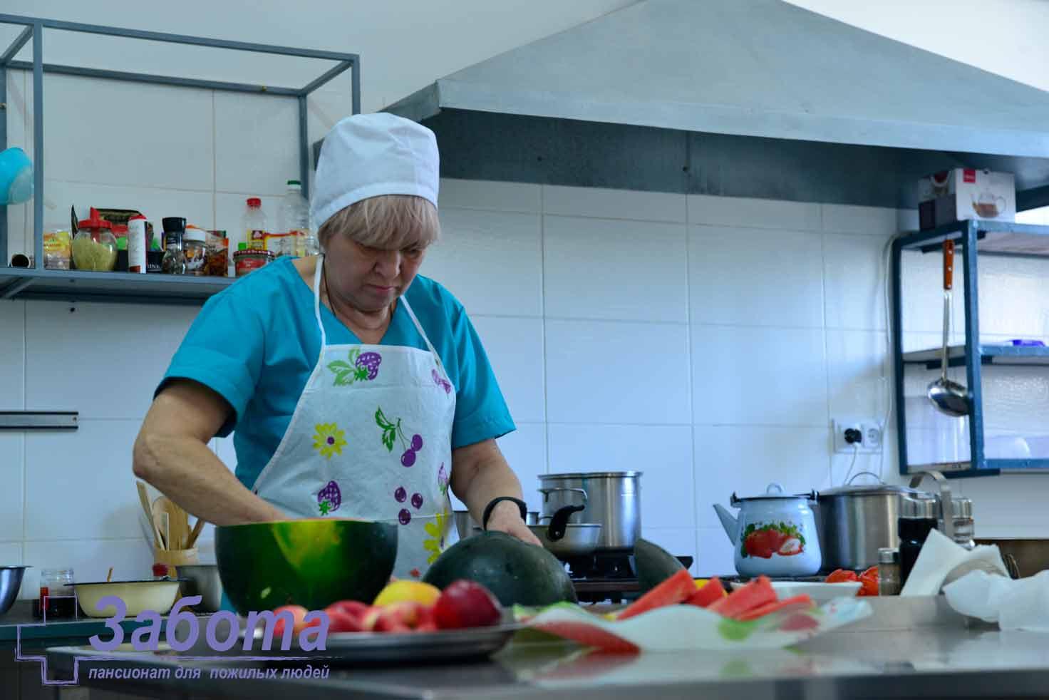gătit la bătrâni